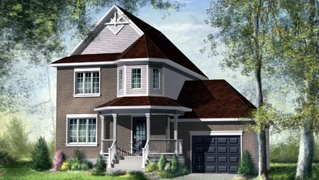 House Plan 52649 Elevation
