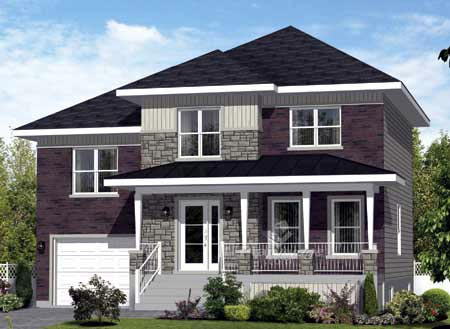 House Plan 52650 Elevation