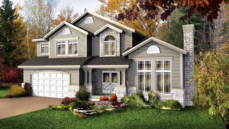 House Plan 52651 Elevation