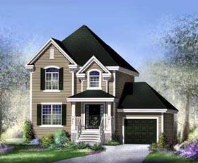 House Plan 52655 Elevation