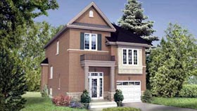House Plan 52657 with 3 Beds, 3 Baths, 1 Car Garage Elevation