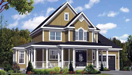 House Plan 52658 Elevation