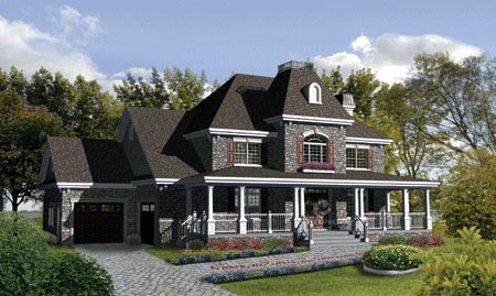 House Plan 52659 Elevation