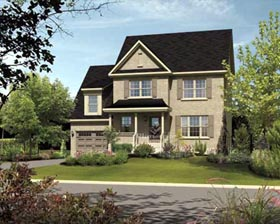 House Plan 52660 | Style Plan with 1796 Sq Ft, 3 Bedrooms, 2 Bathrooms, 1 Car Garage Elevation