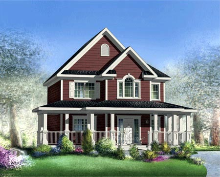 House Plan 52661 Elevation