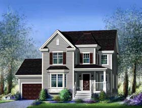 House Plan 52663 Elevation