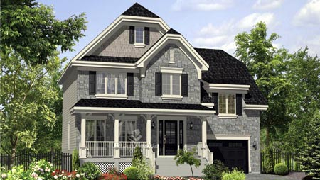 House Plan 52669 Elevation
