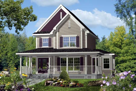 House Plan 52671 Elevation