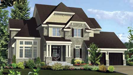 House Plan 52672 Elevation