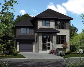 House Plan 52673 Elevation