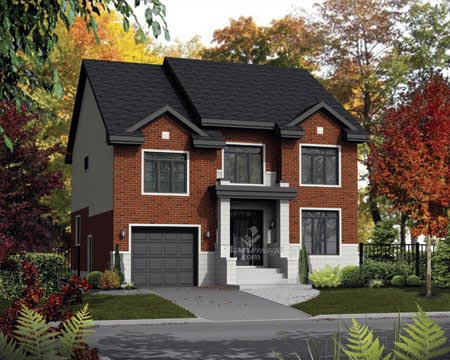 House Plan 52675 Elevation