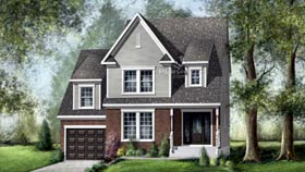 House Plan 52676 Elevation