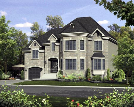 House Plan 52679 Elevation