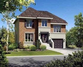 House Plan 52680 Elevation