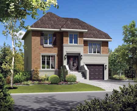 House Plan 52680 Elevation