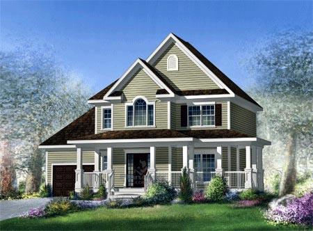 House Plan 52682 Elevation