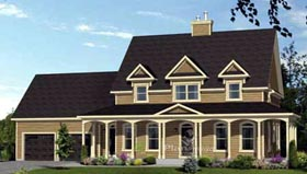 House Plan 52685 Elevation