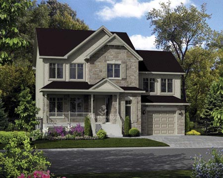 House Plan 52687 Elevation