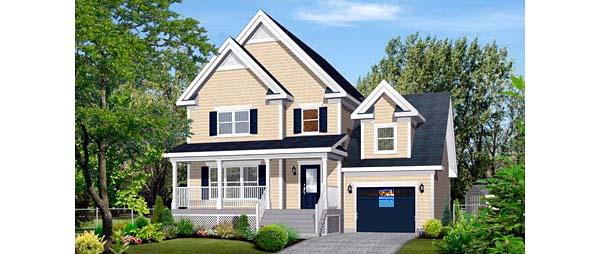 House Plan 52691 Elevation