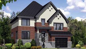 House Plan 52698 Elevation