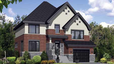 House Plan 52698 with 3 Beds, 2 Baths, 1 Car Garage Elevation