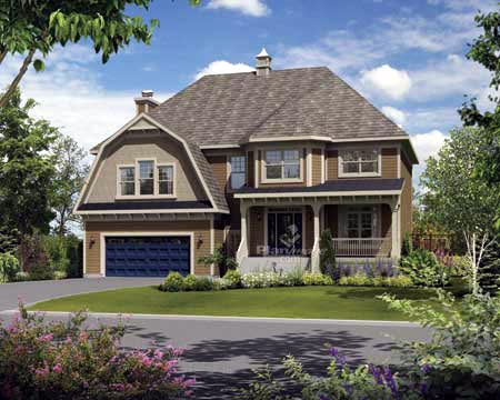 House Plan 52699 Elevation
