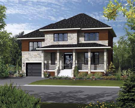 House Plan 52700 Elevation