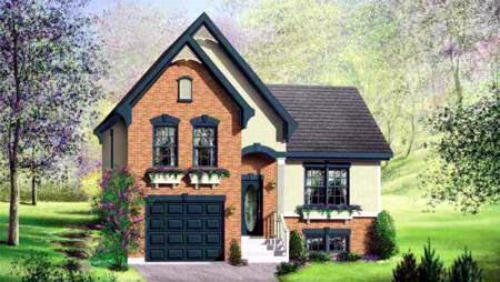 House Plan 52702 Elevation