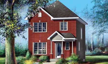 House Plan 52704 Elevation