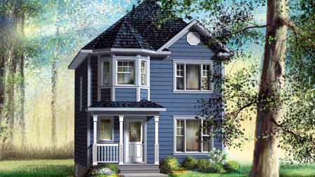 House Plan 52722 Elevation