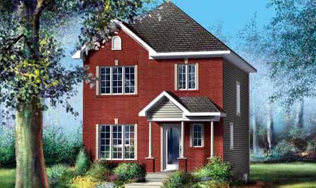 House Plan 52739 Elevation