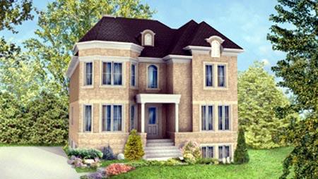 Multi-Family Plan 52760 Elevation