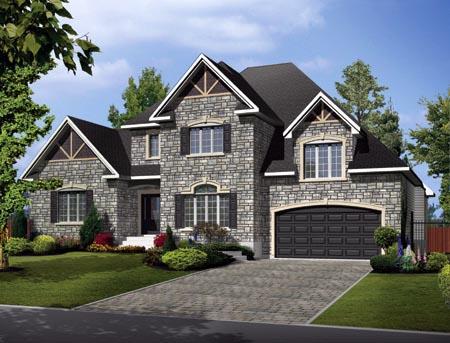 House Plan 52767 Elevation