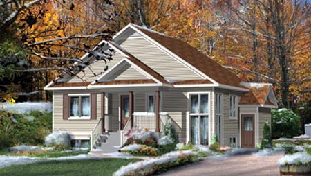 House Plan 52768 Elevation