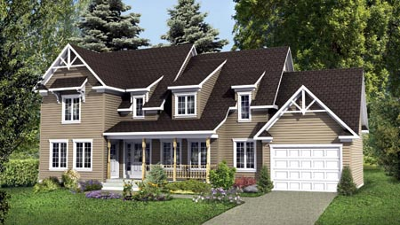 House Plan 52770 Elevation