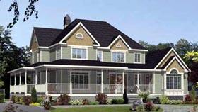 House Plan 52775 Elevation
