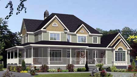 House Plan 52775 Elevation