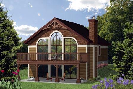 House Plan 52787 Elevation