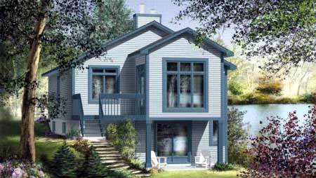 House Plan 52788 Elevation