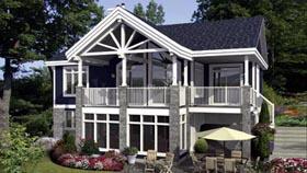 House Plan 52789 Elevation