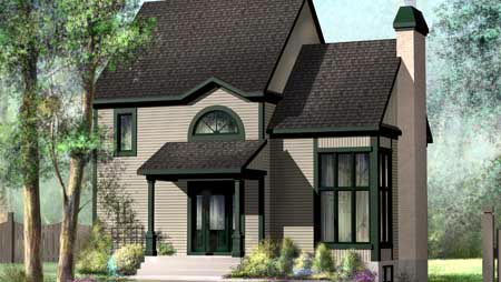 House Plan 52793 Elevation
