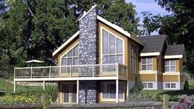 House Plan 52794 Elevation
