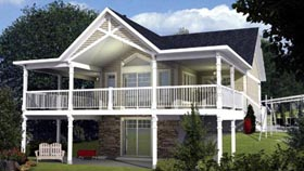 House Plan 52796 Elevation
