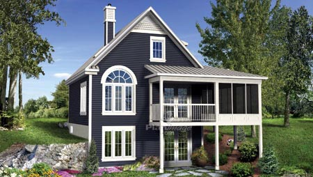 House Plan 52811 Elevation