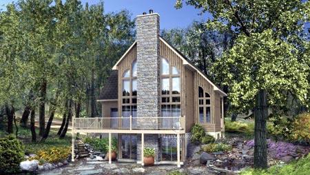 House Plan 52816 Elevation
