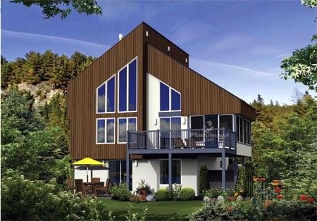 House Plan 52820 Elevation