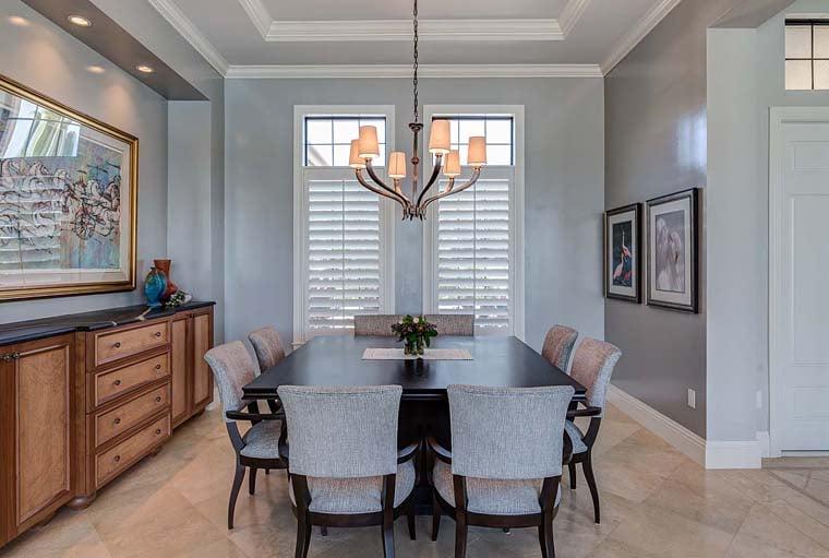 Florida, Mediterranean House Plan 52914 with 3 Beds, 5 Baths, 3 Car Garage Picture 2