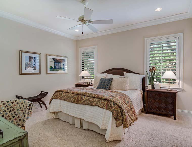Florida, Mediterranean House Plan 52914 with 3 Beds, 5 Baths, 3 Car Garage Picture 6