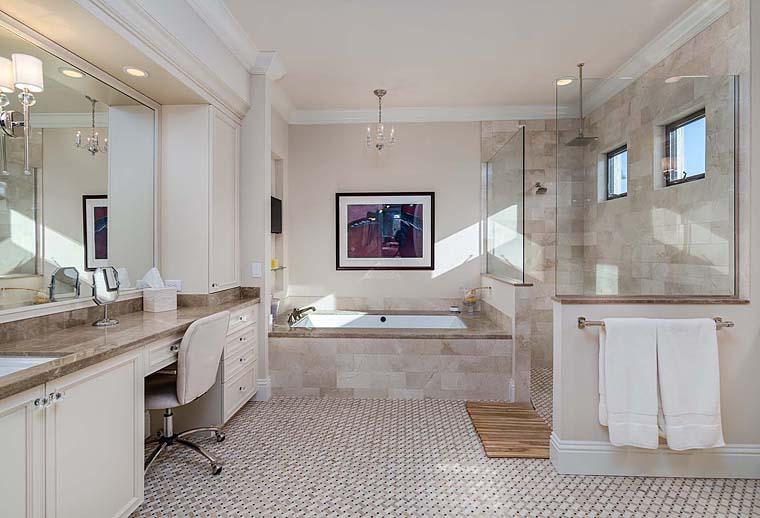Florida, Mediterranean House Plan 52914 with 3 Beds, 5 Baths, 3 Car Garage Picture 8