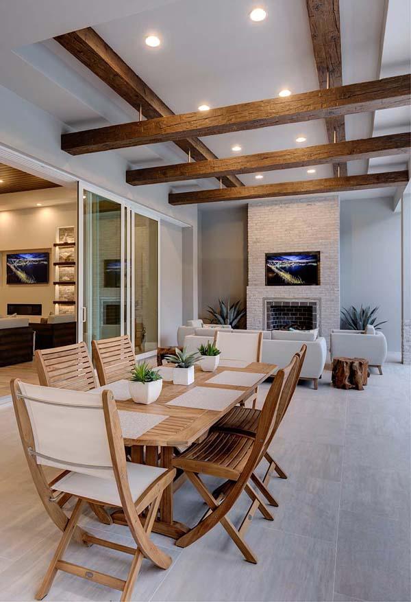 Coastal, Florida, Mediterranean House Plan 52922 with 4 Beds, 5 Baths, 3 Car Garage Picture 16
